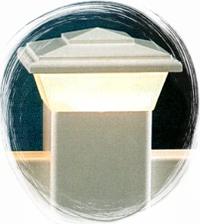 Lighted Post Cap