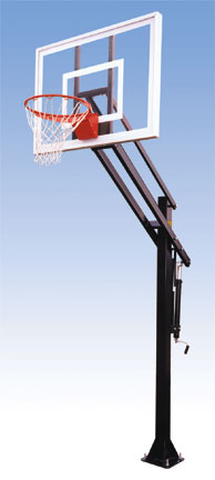Attack III basketball Backboard System