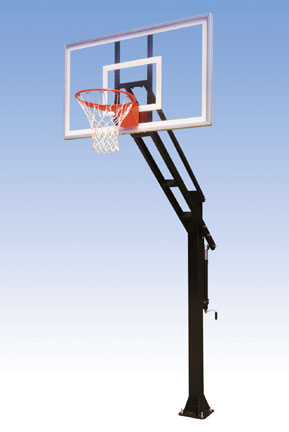 adjustable basketball backboard