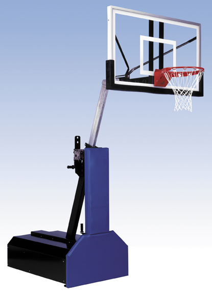 Thunder portable basketball goal