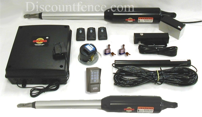 GTO/PRO Double Automatic Gate Opener Package