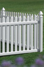 Danbury Vinyl Bufftech Fence