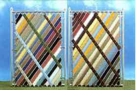 Aluminum Privacy Slats for Chain Link